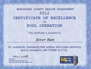This certificate is awarded by the county.